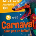 7e Magic Carnaval pour pas un balle