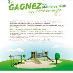 Aidez Forest à remporter une nouvelle plaine de jeux pour les enfants