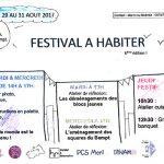 «Festival à Habiter» du 29 au 31/08