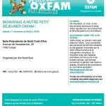 Petit déjeuner Oxfam dans notre quartier