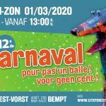 Carnaval pour pas un balle 2020 – Save the date + Besoin de vous!
